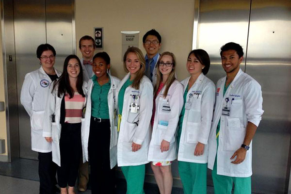 The UF department of medicine offers internal medicine rotations for third- and fourth-year medical students.